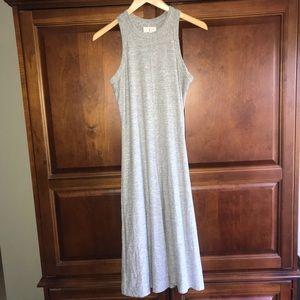 Lou & Grey Dresses - Lou & Gray grey Racerback midi dress